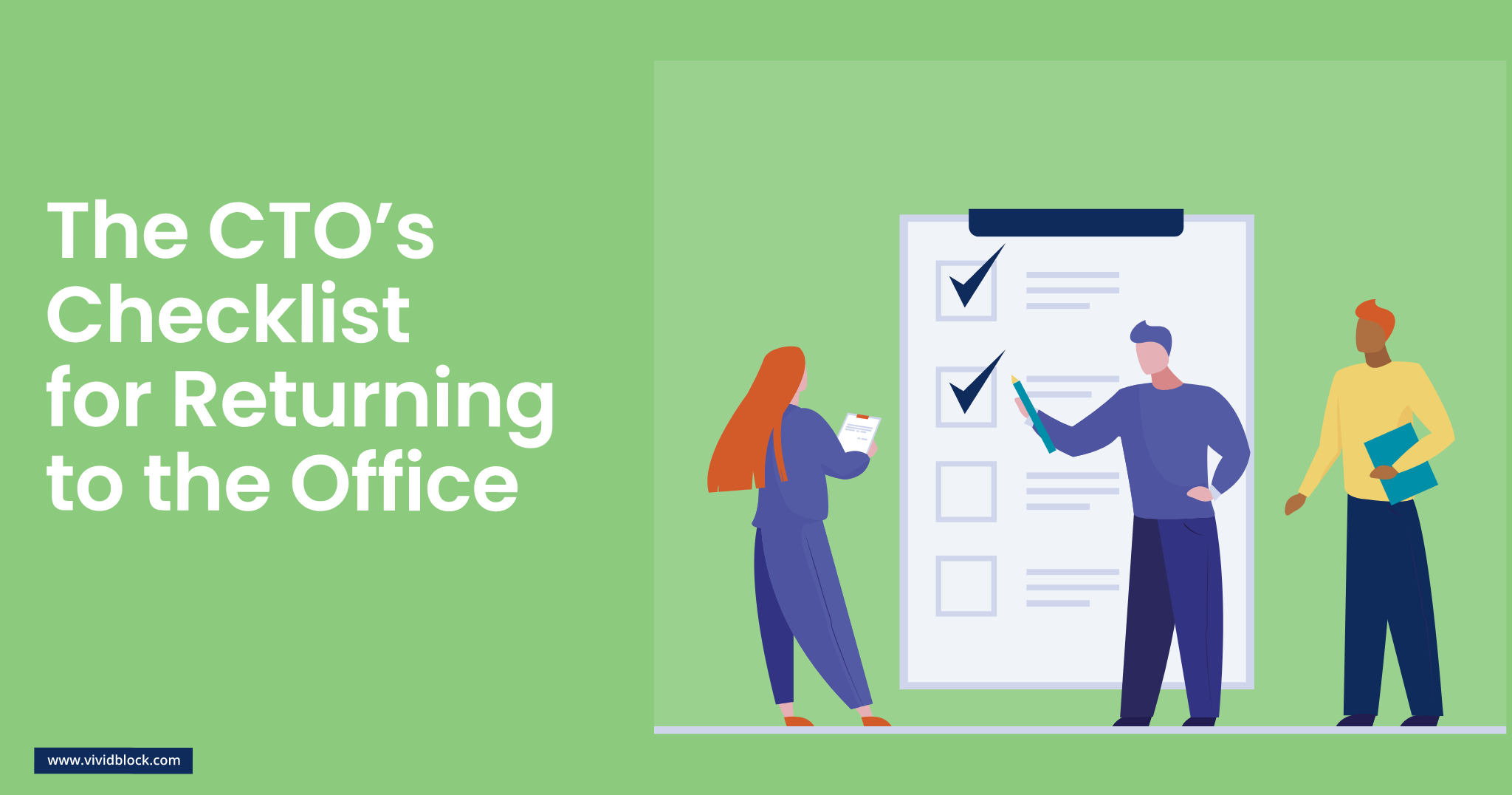 vividblock it and cloud services software marketing and website design wale the cto checklist for returning to the office